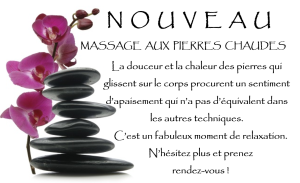 Massages pierres chaudes